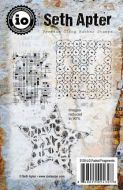 Faded Fragments Cling Rubber Stamps by Seth Apter