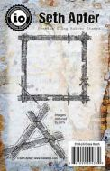 Cross Hatch Cling Rubber Stamps by Seth Apter