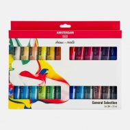 Standard Series Acrylics (UK ONLY - 1 per customer) General Selection Set 24 × 20 ml (17820424)