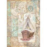A4 Rice paper packed - Sleeping Beauty cradle by Stamperia (DFSA4570)