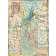 A4 Rice paper packed - Sleeping Beauty fairy tales by Stamperia (DFSA4577)