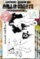 No. 4 Aall and Create Stamp Set (A6)