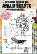 No. 7 Aall and Create Stamp Set (A6)
