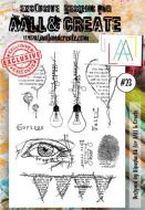 No. 23 Aall and Create Stamp Set (A6)