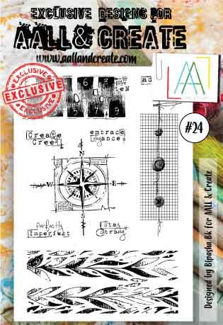 No. 24 Aall and Create Stamp Set (A6)