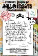 No. 25 Aall and Create Stamp Set (A6)