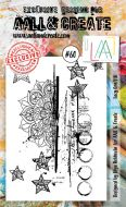 No. 60 - Lacy Graffiti - Aall and Create Stamp Set (A6)