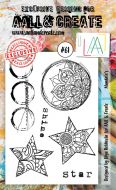 No. 61 Mandalas Aall and Create Stamp Set (A6)