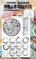 No. 62 Circular Marks Aall and Create Stamp Set (A6)