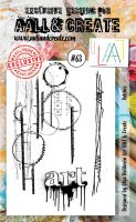 No. 63 Patches Aall and Create Stamp Set (A6)