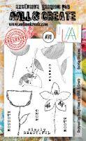 No. 70 Quirky Blossoms Aall and Create Stamp Set (A6)