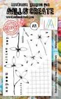 No. 71 Natures Garden Aall and Create Stamp Set (A6)