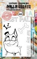 No. 101 Furry Friends 2 Aall and Create A7 Stamp Set by Olga Heldwein
