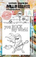 No. 103 Rocking Solo Aall and Create A7 Stamp Set by Olga Heldwein