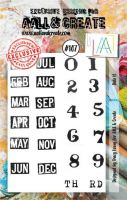 No. 107 Date It  Aall and Create A7 Stamp Set by Tracy Evans