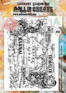 No. 112 Travel Journal Aall and Create Stamp Set (A4)