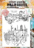 No. 114 Red Baron Aall and Create Stamp Set (A4)