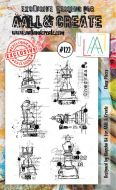 No. 122 Chess Pieces Aall and Create Stamp Set (A6)