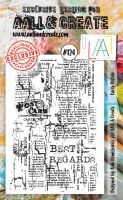 No. 124 Carte Postale Aall and Create Stamp Set (A6)