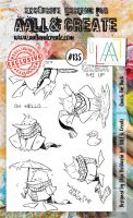 No. 135 Quack the Duck Aall and Create Stamp Set (A6)