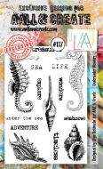 No. 137 Underwater Wonders Aall and Create Stamp Set (A6)