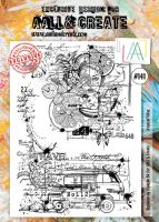 Tropical Vibes No. 141 Aall and Create Stamp Set (A4)