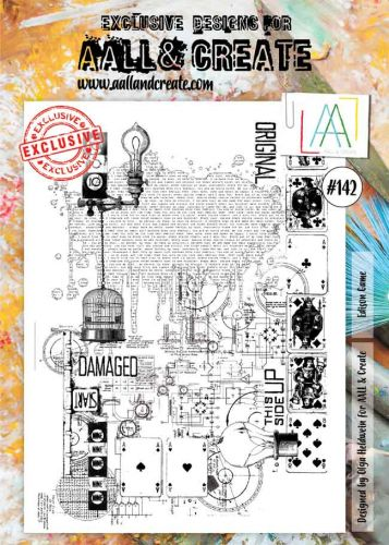 Edison Game No. 142 Aall and Create Stamp Set (A4)