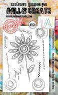 No. 154 Sketched and Doodles Moments Aall and Create Stamp Set (A6)