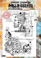 No. 196 For Him Aall and Create Stamp Set (A4) - AAL00196