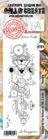 No. 204 Planetary Aall and Create Stamp Set (Border) - AAL00204