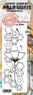 No. 206 Hexagonal Stem Aall and Create Stamp Set (Border) - AAL00206