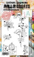 No. 207 Aall and Create Stamp Set (A6) - AAL00207