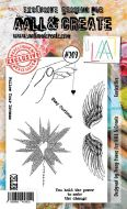 No. 209 Curiosities Aall and Create Stamp Set (A6) - AAL00209