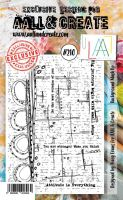 No. 210 Background Mashup Aall and Create Stamp Set (A6) - AAL00210