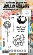 No. 212 Bright Side Aall and Create Stamp Set (A6) - AAL00212