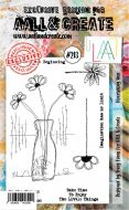 Expected later in August - No. 213 Flourishing Vase Aall and Create Stamp Set (A6) - AAL00213