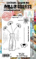 No. 213 Flourishing Vase Aall and Create Stamp Set (A6) - AAL00213