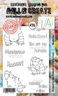 No. 216 Monsterous Aall and Create Stamp Set (A6) - AAL00216