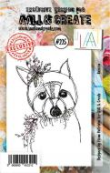 No. 225 Racoon Aall and Create Stamp Set (A7) - AAL00225