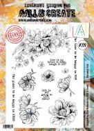 No. 229 Blooming Field Aall and Create Stamp Set (A4) - AAL00229
