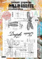 No. 230 On Dragonfly Wings Aall and Create Stamp Set (A4) - AAL00230