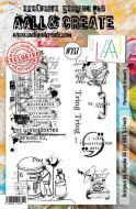 No. 237 Phonebooth Elements Aall and Create Stamp Set (A5) - AAL00237