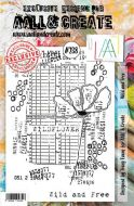 No. 238 Wild and Free Aall and Create Stamp Set (A5) - AAL00238
