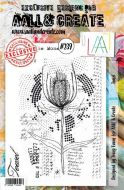No. 239 Teasel Aall and Create Stamp Set (A5) - AAL00239