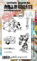 No. 242 Mailbox Elements Aall and Create Stamp Set (A6) - AAL00242