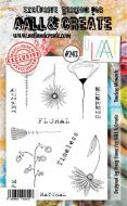 No. 243 Timeless Moments Aall and Create Stamp Set (A6) - AAL00243