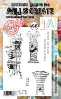 No. 245 Style It Aall and Create Stamp Set (A6) - AAL00245