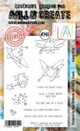 No. 248 Beary Fairy Aall and Create Stamp Set (A6) - AAL00248