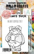 No. 252 Coffee First Aall and Create Stamp Set (A7) - AAL00252
