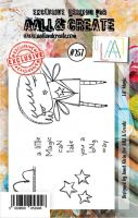 No. 257 Lil Magic Aall and Create Stamp Set (A7) - AAL00257